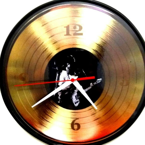 New Homemade Other - BRUCE SPRINGSTEEN - BORN TO RUN 12 IN WALL CLOCK